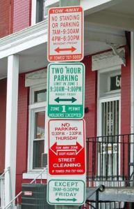 Ah, the joys of public parking!